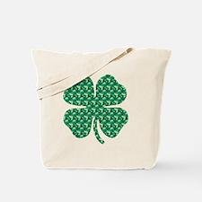 Shamrock Pattern1 Tote Bag
