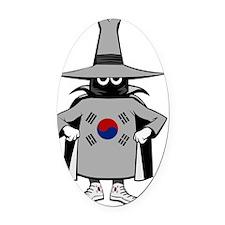 F-4 Phantom II Spook - South Korea Oval Car Magnet