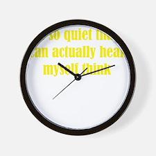 quiet3 Wall Clock