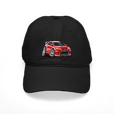 mitsubishi red Baseball Hat