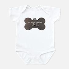 Friend Maltese Infant Bodysuit