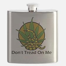 Dont-Tread-On-Me-Marijuana Flask