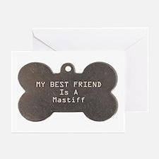 Friend Mastiff Greeting Cards (Pk of 10)