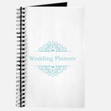 Wedding Planner in blue Journal