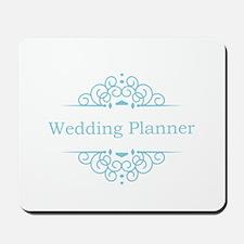 Wedding Planner in blue Mousepad