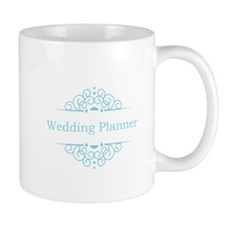 Wedding Planner in blue Mugs