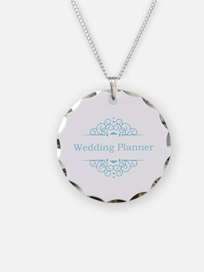 Wedding Planner in blue Necklace