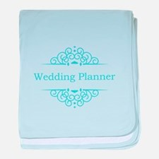 Wedding Planner in blue baby blanket