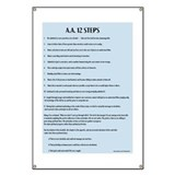 Alcoholics anonymous 12 steps Banners