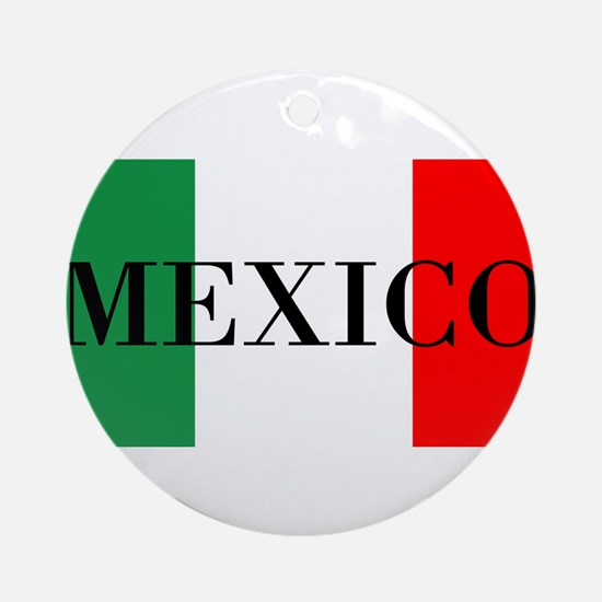 Mexico Flag Colors Ornament (Round)