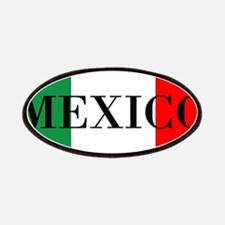 Mexico Flag Colors Patches
