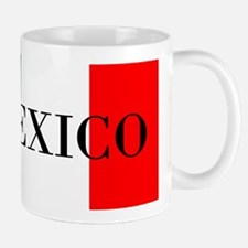 Mexico Flag Colors Mugs