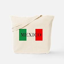 Mexico Flag Colors Tote Bag
