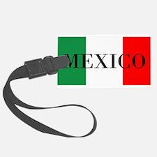 Mexico Flag Colors Luggage Tag
