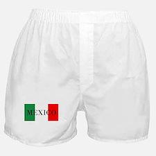 Mexico Flag Colors Boxer Shorts