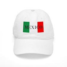 Mexico Flag Colors Baseball Baseball Cap