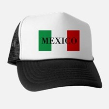 Mexico Flag Colors Trucker Hat