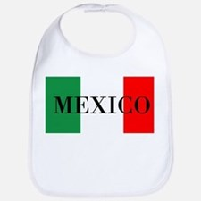 Mexico Flag Colors Bib