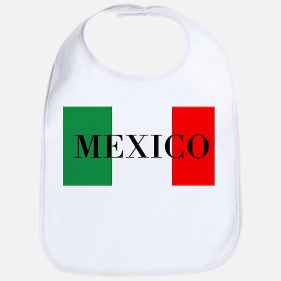 Mexico Flag Colors Bib