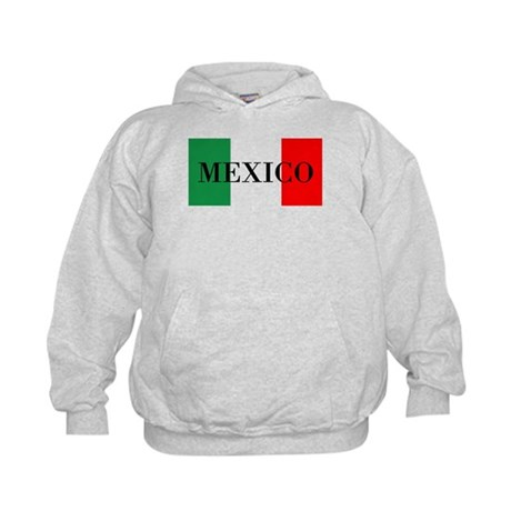 Mexico Flag Colors Hoodie