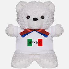 Mexico Flag Colors Teddy Bear
