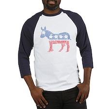 Democratic Donkey Tee Baseball Jersey