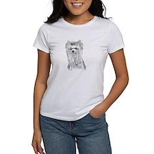 Yorkie show head T-Shirt