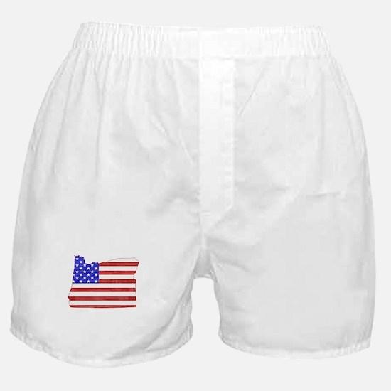Oregon Flag Boxer Shorts