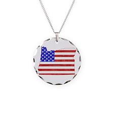 Oregon Flag Necklace