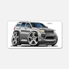 Jeep Cherokee Silver Truck Aluminum License Plate
