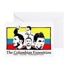 union-columbia2 Greeting Card