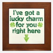 luckycharm Framed Tile