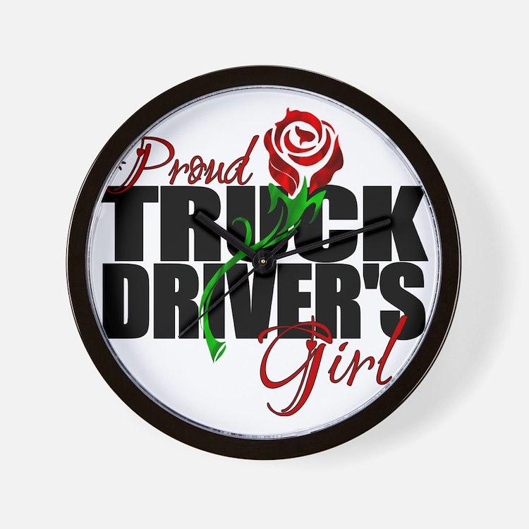 truckersgirl Wall Clock