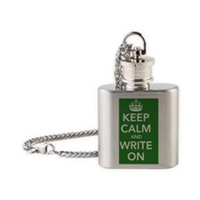 lgpostergreen Flask Necklace