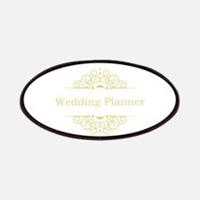 Wedding Planner in gold Patches
