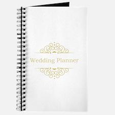 Wedding Planner in gold Journal