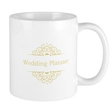 Wedding Planner in gold Mugs