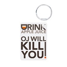 drink-apple-juice Keychains