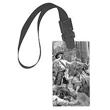 Vintage Pirates Luggage Tag
