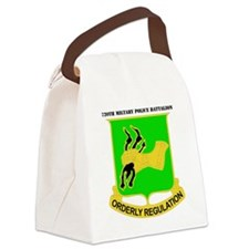 DUI-720TH MILITARY PLC BN WITH TE Canvas Lunch Bag
