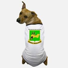 DUI-720TH MILITARY PLC BN WITH TEXT Dog T-Shirt