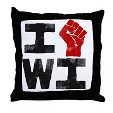 IhrtWI-3 Throw Pillow