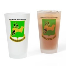 DUI-720TH MILITARY PLC BN WITH TEXT Drinking Glass