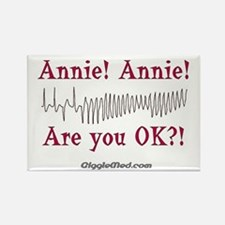 Annie! Annie! 2 Rectangle Magnet