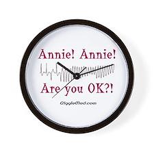 Annie! Annie! 2 Wall Clock
