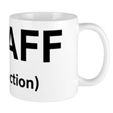 Staff Infection Black Mug