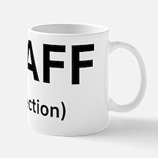Staff Infection Black Mug