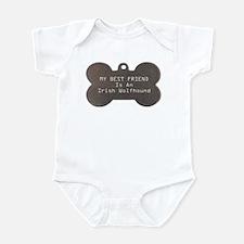 Friend Wolfhound Infant Bodysuit