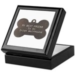 Friend Wolfhound Keepsake Box