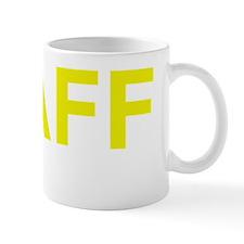 Staff Yellow Mug
